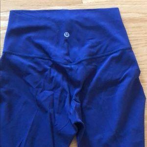 lululemon athletica Pants - New lululemon blue/purple align pant